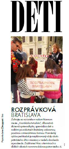 Rozprávková Bratislava
